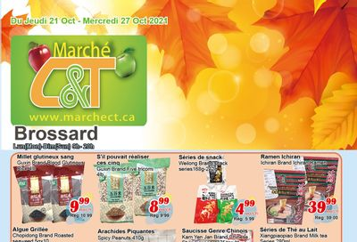 Marche C&T (Brossard) Flyer October 21 to 27