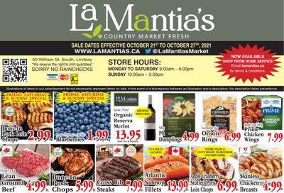 LaMantia's Flyer October 21 to 27