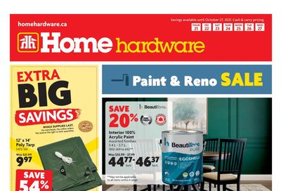 Home Hardware (BC) Flyer October 21 to 27