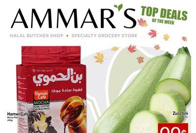 Ammar's Halal Meats Flyer October 21 to 27