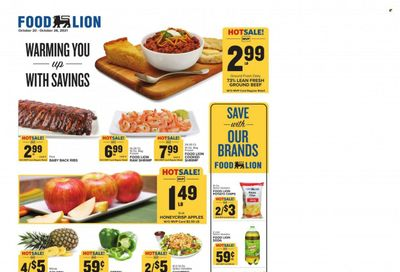 Food Lion (VA) Weekly Ad Flyer October 20 to October 27
