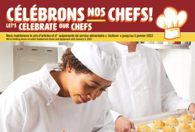 Wholesale Club (QC) Let's Celebrate Our Chefs Flyer October 21 to January 5