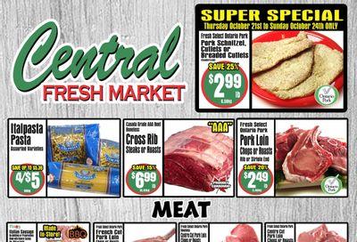 Central Fresh Market Flyer October 21 to 28