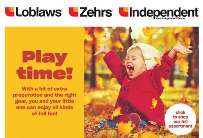Loblaws (ON) Baby Book October 21 to November 3