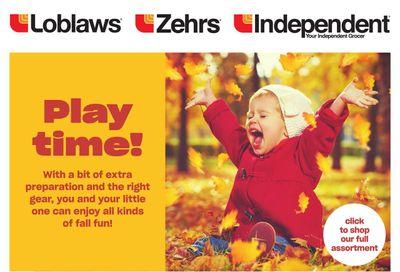 Zehrs Baby Book October 21 to November 3