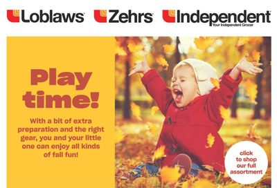Independent Grocer (ON) Baby Book October 21 to November 3