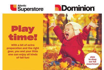 Dominion Baby Book October 21 to November 3