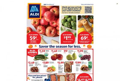 ALDI Weekly Ad Flyer October 20 to October 27