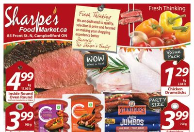 Sharpe's Food Market Flyer October 21 to 27