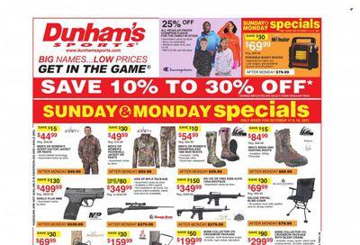 Dunham's Sports (VA) Weekly Ad Flyer October 21 to October 28