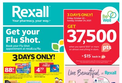 Rexall (AB) Flyer October 22 to 28