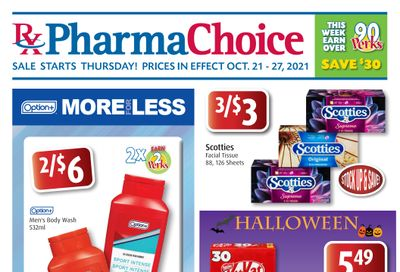 PharmaChoice (BC, AB, SK & MB) Flyer October 21 to 27