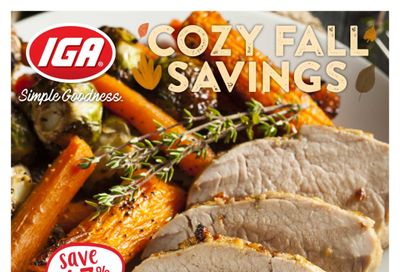 IGA Stores of BC Flyer October 22 to 28