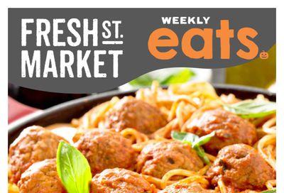Fresh St. Market Flyer October 22 to 28