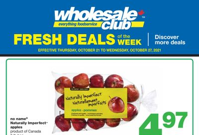 Wholesale Club (Atlantic) Fresh Deals of the Week Flyer October 21 to 27