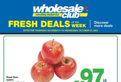 Wholesale Club (West) Fresh Deals of the Week Flyer October 21 to 27