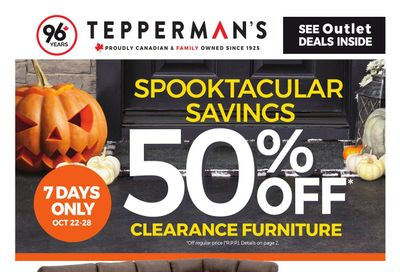 Tepperman's Flyer October 22 to 28