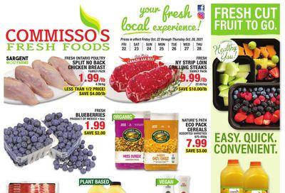 Commisso's Fresh Foods Flyer October 22 to 28