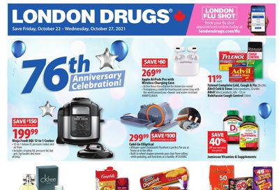 London Drugs Flyer October 22 to 27