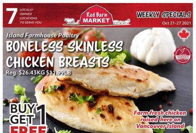 Red Barn Market Flyer October 21 to 27