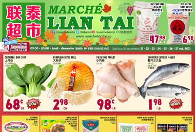 Marche Lian Tai Flyer October 21 to 27