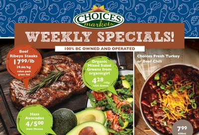 Choices Market Flyer October 21 to 27