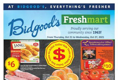 Bidgood's Flyer October 21 to 27