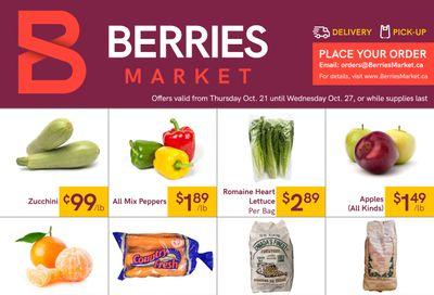 Berries Market Flyer October 21 to 27