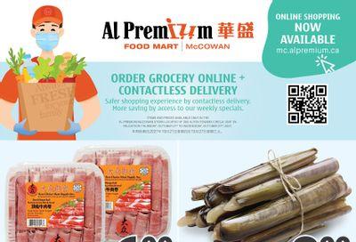 Al Premium Food Mart (McCowan) Flyer October 21 to 27