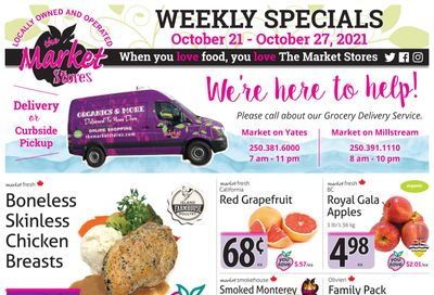 The Market Stores Flyer October 21 to 27