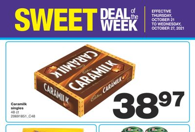 Wholesale Club Sweet Deal of the Week Flyer October 21 to 27