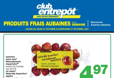 Wholesale Club (QC) Fresh Deals of the Week Flyer October 21 to 27