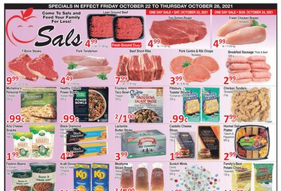 Sal's Grocery Flyer October 22 to 28