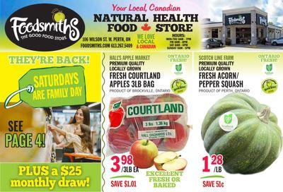 Foodsmiths Flyer October 21 to 28