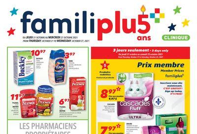Familiprix Clinique Flyer October 21 to 27