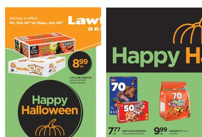 Lawtons Drugs Flyer October 22 to 28
