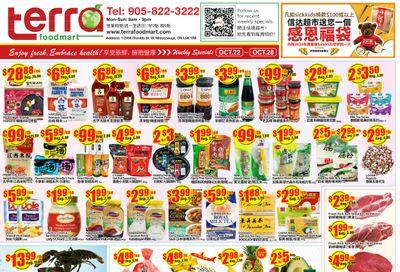 Terra Foodmart Flyer October 22 to 28