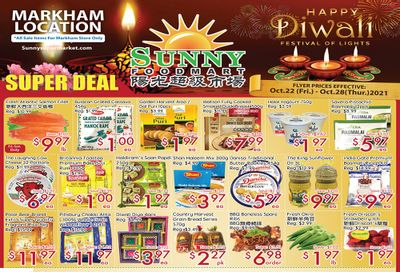 Sunny Foodmart (Markham) Flyer October 22 to 28