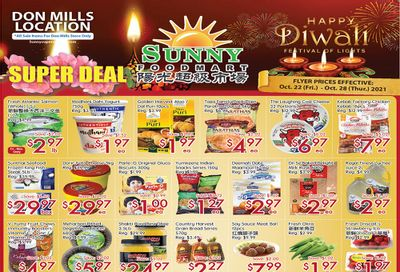 Sunny Foodmart (Don Mills) Flyer October 22 to 28