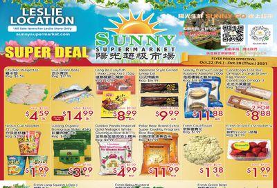 Sunny Supermarket (Leslie) Flyer October 22 to 28