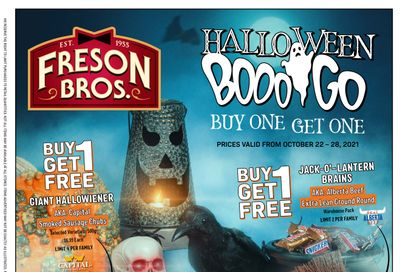 Freson Bros. Flyer October 22 to 28