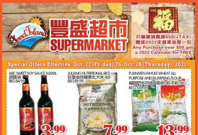 Food Island Supermarket Flyer October 22 to 28