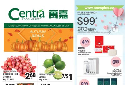 Centra Foods (North York) Flyer October 22 to 28