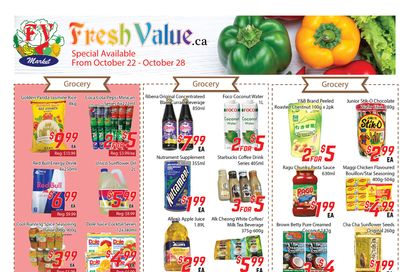 Fresh Value Flyer October 22 to 28