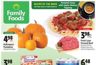 Family Foods Flyer October 22 to 28