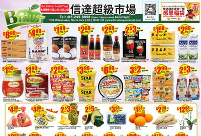 Btrust Supermarket (North York) Flyer October 22 to 28