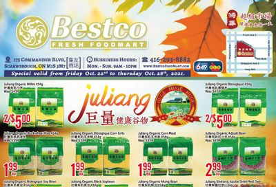 BestCo Food Mart (Scarborough) Flyer October 22 to 28