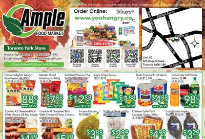 Ample Food Market (North York) Flyer October 22 to 28