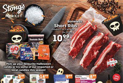Stong's Market Flyer October 22 to November 4