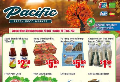 Pacific Fresh Food Market (North York) Flyer October 22 to 28